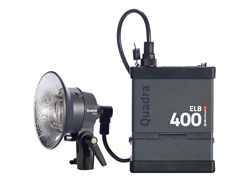 Elinchrom ELB 400 Quadra Head and Battery Pack