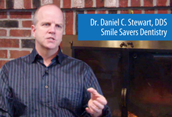 Dr. Daniel C. Stewart of Smile Savers Dentistry Demonstrates LANAP® Laser.