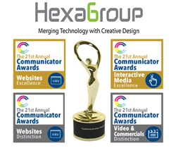 HexaGroup wins at The Communicator Awards