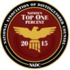 NADC Nations Top One Percent Badge