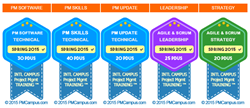 pmcampus digital badge for continuing education in project management