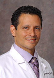 Erik Fernandez y Garcia, associate professor of clinical pediatrics and lead author on the study.
