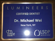 Lumineers Porcelain Tooth Veneers in Manhattan NYC by Dr. Michael J. Wei, DDS
