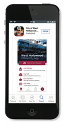 West Hollywood's Mobile App