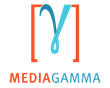 UK tech start-up MediaGamma's logo