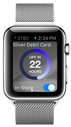Tranwall Card Control on Apple Watch
