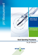 New Booklet from METTLER TOLEDO on Good Operating Procedures for pH Sensors