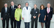 Valentin Fuster, MD, PhD, Director of Mount Sinai Heart; Ronald S. Lauder and Jo Carole Lauder; Dennis S. Charney, MD, the Anne and Joel Ehrenkranz Dean of the Icahn School of Medicine at Mount Sinai; Kenneth L. Davis, MD, President and Chief Executive Officer of the Mount Sinai Health System; Judy Lauder and Leonard Lauder.
