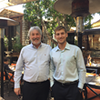 GS Managing Director Michael Savoy hosts Danny Vivier, recipient of the UCLA Department of Economics ‒ Gumbiner Savett Inc. Endowed Undergraduate Prize