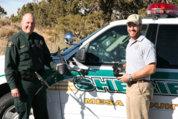 Mesa County Sheriff's Department with the Draganflyer X6