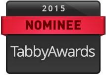 Tabby Awards nominee badge