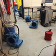 More deployed driers during the first stage of the San Diego Marriott water damage restoration job