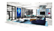 City-chic interior design inspired by the eclectic Wynwood Arts District and Miami's Design District