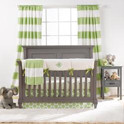 Kiwi Green Baby Bedding