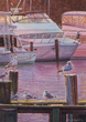 Sunrise at the Marina, by W. Siegrist