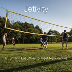 Jetivity addresses a need for face-to-face social contact.