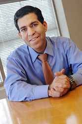 Amit Vohra, Ph.D., RG+A's Vice President for Sales and Business Development