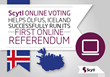 Scytl Online Voting Helps Iceland Successfully Run Fully Online Referendums