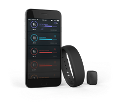 Amiigo wearable devices and mobile app