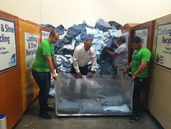 "Loyola Marymount and ATRS Recycling ""Clothes the Loop"" to Support Nepal Disaster Relief"
