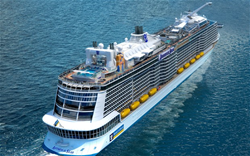 Royal Caribbean Anthem of the Seas Sail Away 2016