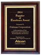 Fishman Corporation Named 2014 Alcon Supplier of Excellence