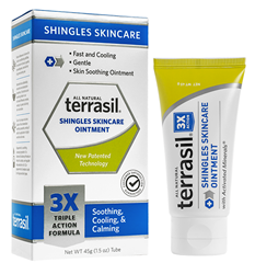 Terrasil Shingles Skincare Ointment Introduced As