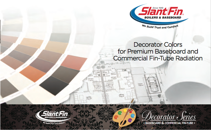 Automotive Paint Colors >> Slant/Fin's New Decorator Series Elevates Baseboard ...