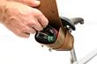 Rapide Saddlebag with removable Mini Tool Roll