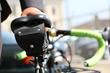 Rapide Cycling Saddlebag—black leather