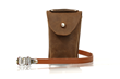 Rapide Saddlebag in Grizzly Leather—with Toe-clip Strap