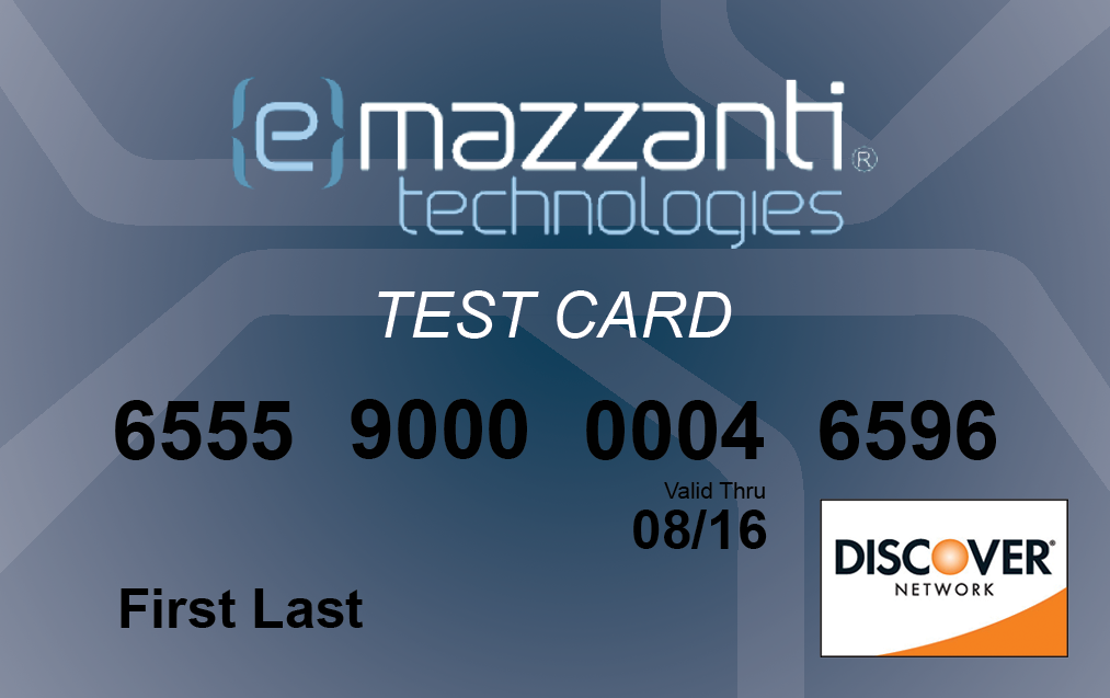 eMazzanti Offers Test Credit Cards to Help Retailers Prepare for