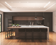 The ELEMENT Merge Recessed Lighting System with Henrik pendants and Gimbal spot heads