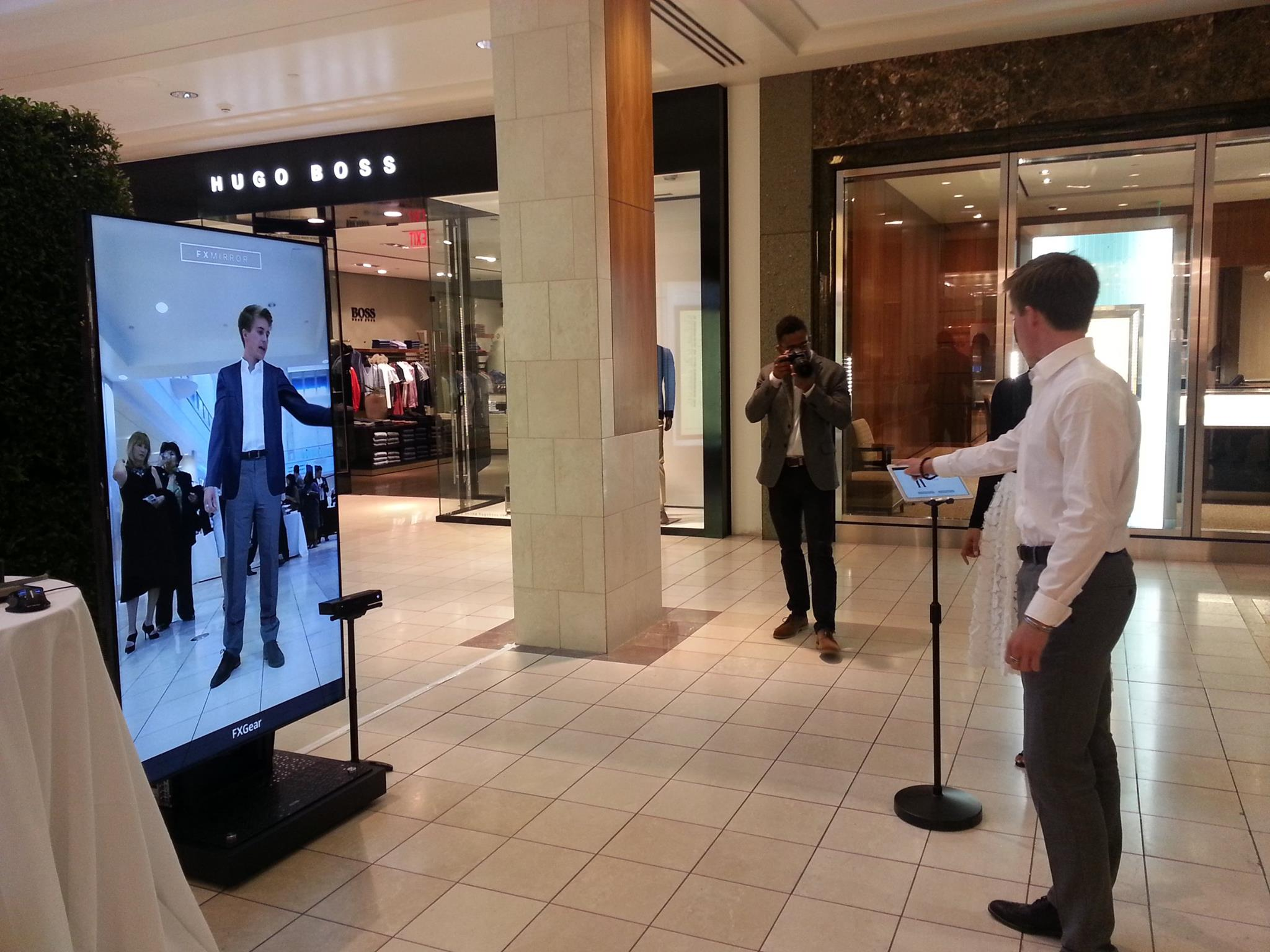 Fashionable Technology Fxmirror Brings Its Virtual