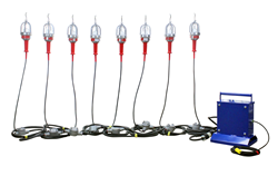 Class 1 Division 1 100 Watt String Light Set to operate on in low voltage applications