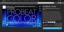 Pixel Film Studios ProBeat Color Plugin.
