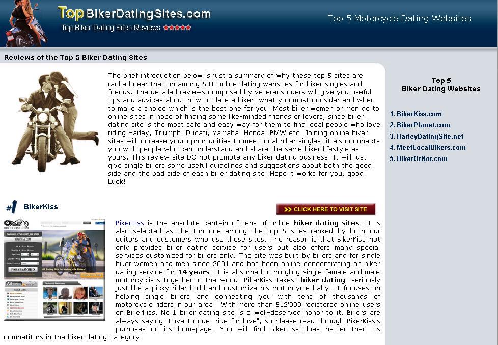 Biker dating websites