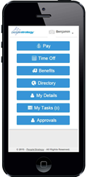 PeopleStrategy eHCM mobile app