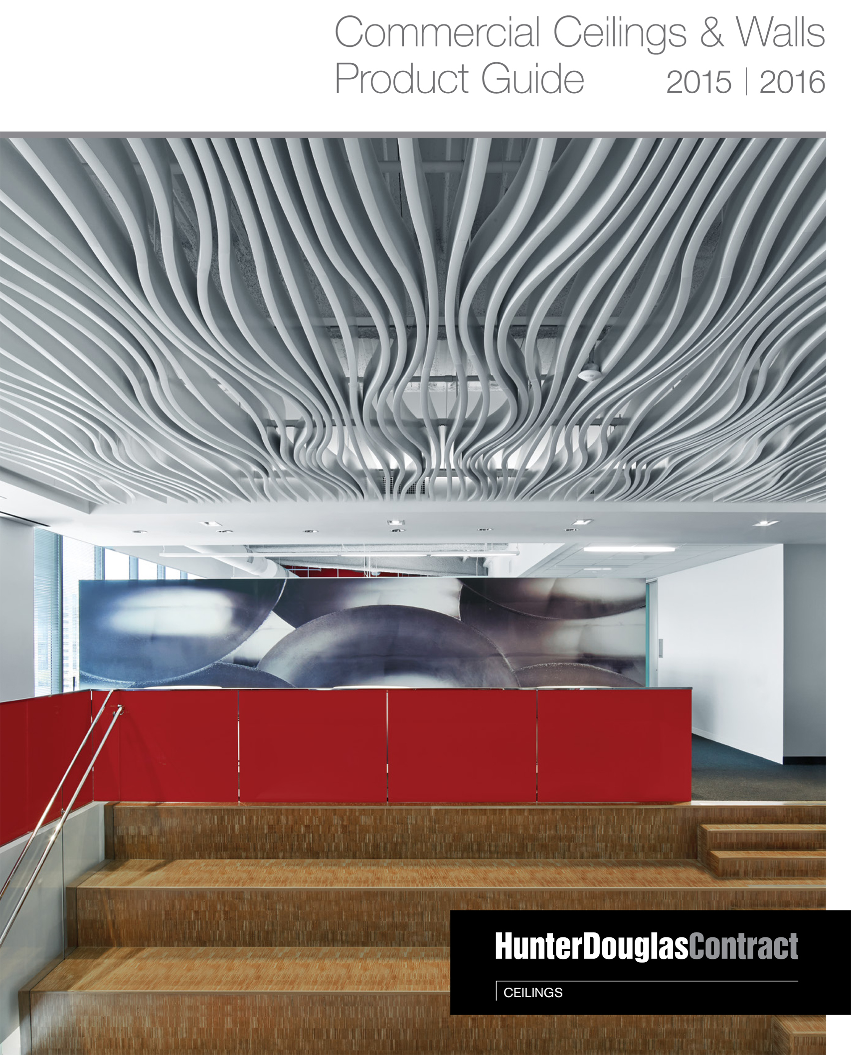 Hunter Douglas Introduces Its 2017 Commercial Ceilings And Walls Guide