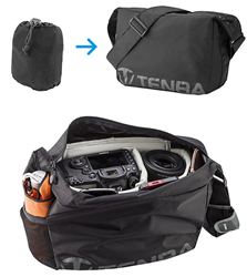 Packlite Travel Bags - The World's First Pakckable, Self-Stowing Camera Bag