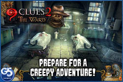 All the Way Through the Hallway of Madness in 9 Clues 2: The Ward (iOS) from G5 Entertainment & Artifex Mundi