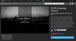 Pixel Film Studios Final Cut Pro X FCPX Overlay 35mm Plugin