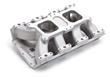 Edelbrock Performer Dual Quad Air-Gap Intake Manifold for Chrysler 436-57 Hemi, Throttle Body EFI