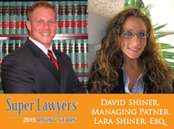 2015 Super Lawyers Shiner Law Group