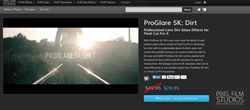 ProGlare 5K Dirt Plugin from Pixel Film Studios