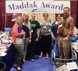 Maddak Awards Competition Booth