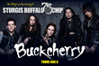 American rock band, Buckcherry will perform on the Buffalo Chip's Wolfman Jack stage on Thursday, Aug. 6