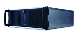 Seneca prysmHDplus video wall controllers powered by Matrox Mura MPX capture & display cards.