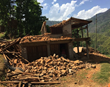 The Sindhupalchowk district of Nepal near the Chinese border suffered the greatest damage and the most casualties—with a death tool of nearly 3,000.