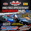 NASCAR Armed Forces Appreciation Night at Irwindale Speedway